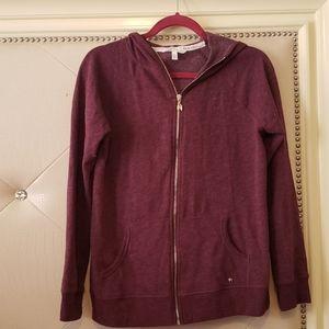 VS bling sequin hoodie.